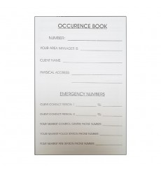 Occurence Book - 200 Pages