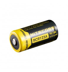 Nitecore RCR123 Li-Ion 650mAH Rechargeable Battery