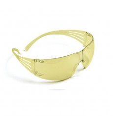 3M SecureFit 400 Series Safety Glasses - Amber