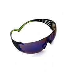3M SecureFit 400 Series Safety Glasses - Blue Mirror