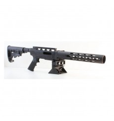 Nordic Components AR-22 Conversion Kit for Ruger 10/22 with Handguard & Adjustable Stock