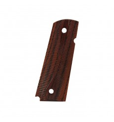 Chip McCormick 1911  Slim Carry Rosewood Grips - Double-Diamond Checkered