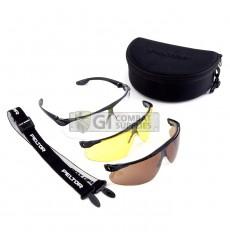 Peltor Maxim Ballistic Glasses - 3 Lens Utility Pack